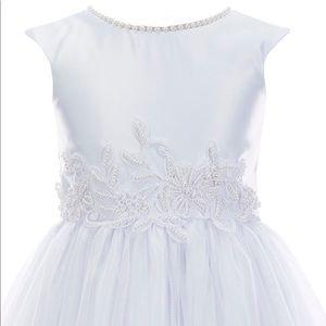 Off-White flower girl or communion dress